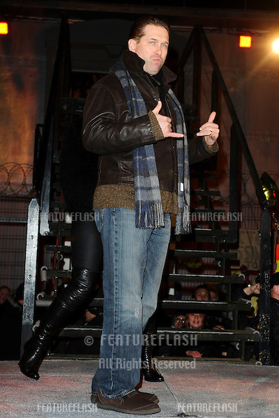 Stephen Baldwin enters the 2010 Celebrity Big Brother house, Elstree, London. 03/01/2010  Picture by: Steve Vas / Featureflash