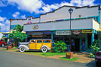 The Northshore Marketplace with its wide variey of shops and restaurants is a sure stop for the serious sightseer. Located in the town of Haleiwa on oahu's north shore.