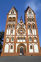 Limberg: Georgsdom  was consecrated in 1235, destroyed by fire but rebuilt  and is now called St. George's Cathedral. Transitional, Romanesque and Gothic mix. Photo '87.