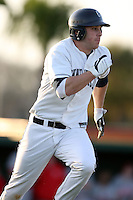 February 21, 2009:  Shortstop Mike Olt (22) of the University of Connecticut during the Big East-Big Ten Challenge at Jack Russell Stadium in Clearwater, FL.  Photo by:  Mike Janes/Four Seam Images