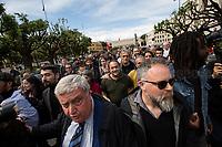 13.05.2019 - Mimmo Lucano Former Mayor Of Riace At The University La Sapienza of Rome