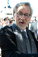 Director Steven SPIELBERG attends the THE BFG Photocall during the 69th annual Cannes Film Festival at the Palais des Festivals on May 14, 2016 in Cannes, France.