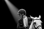 Rider in action at the Longines Grand Prix during the Longines Hong Kong Masters 2015 at the Asiaworld Expo on 15 February 2015 in Hong Kong, China. Photo by Jerome Favre / Power Sport Images