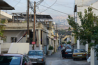 LEBANON, Beirut, palestinian refugee camp Dbayeh where palestinian christians are living / LIBANON, Beirut, palaestinensisches Fluechtlingslager Dbayeh, hier leben vorwiegend palaestinensische Christen