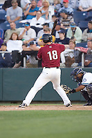July 4, 2009: Yakima Bears' Clayton Conner at-bat during a Northwest League game against the Everett AquaSox at Everett Memorial Stadium in Everett, Washington.