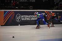 SPEEDSKATING: DORDRECHT: 06-03-2021, ISU World Short Track Speedskating Championships, QF 500m Men, Pietro Sighel (ITA), ©photo Martin de Jong