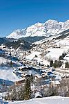 Oesterreich, Salzburger Land, Pongau, Muehlbach: vorm Hochkoenig | Austria, Salzburger Land, Pongau, Muehlbach: and Hochkoenig mountains