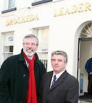 Gerry Adams in Drogheda Leader