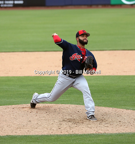 Luis Araujo - Cleveland Indians 2019 extended spring training (Bill Mitchell)