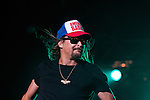 Kid Rock playing a show at Black Diamond Harley Davidson in Marion, IL.