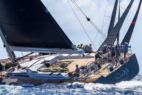 The 29m Aragon yacht (ex: Windfall ) was built in 2012 by Southern Wind and under Royal St. George skipper Mick Cotter set the 2019 Dun Laoghaire to Dingle Race record.She races next week at Sardinia's Loro Piana Regatta