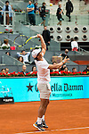 Rafa Nadal during the Charity Day of the Mutua Madrid Open at Caja Magica in Madrid. April 29, 2016. (ALTERPHOTOS/Borja B.Hojas)