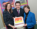 Sarah McKenzie, Falkirk Delivers, Councillor Adrian Mahoney, Falkirk Council Convener of Leisure, Tourism and Community, and Liz Buchanan, Regional Director VisitScotland at the Visit Falkirk Opportunities for Tourism Businesses in Falkirk Event, Callendar House, Falkirk..