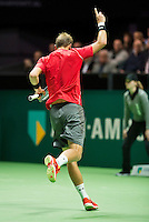 Rotterdam, The Netherlands, Februari 8, 2016,  ABNAMROWTT, Thiemo de Bakker (NED)<br /> Photo: Tennisimages/Henk Koster