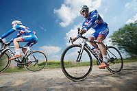 Jempy Drucker (LUX/Wanty-GroupeGobert)<br /> <br /> 2014 Paris - Roubaix reconnaissance