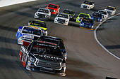 NASCAR Camping World Truck Series<br /> Toyota Tundra 250<br /> Kansas Speedway, Kansas City, KS USA<br /> Friday 12 May 2017<br /> Ben Rhodes, Safelite Auto Glass Toyota Tundra and Christopher Bell, SiriusXM Toyota Tundra<br /> World Copyright: Russell LaBounty<br /> LAT Images<br /> ref: Digital Image 17KAN1rl_4676