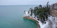 Lake Superior - Pictured Rocks National Lakeshore, Munising, MI