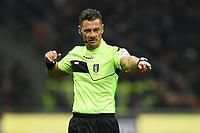 Piero Giacomeli referee <br /> Milano 22-02-2019 Stadio Giuseppe Meazza in an Siro Football Serie A 2018/2019 AC Milan - Empoli <br /> Foto Image Sport / Insidefoto