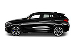 Car Driver side profile view of a 2019 BMW X2 M35 5 Door SUV Side View