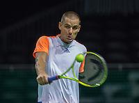 Rotterdam, Netherlands, 11 februari, 2017, ABNAMROWTT, Qualifyer, first round, Mikhail Youzhny (RUS)