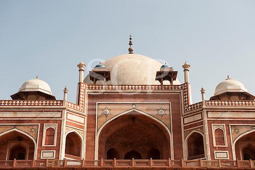 Delhi, India. Tomb of Emperor Humayun.