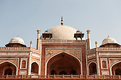 Delhi, India. Tomb of Emperor Humayun.