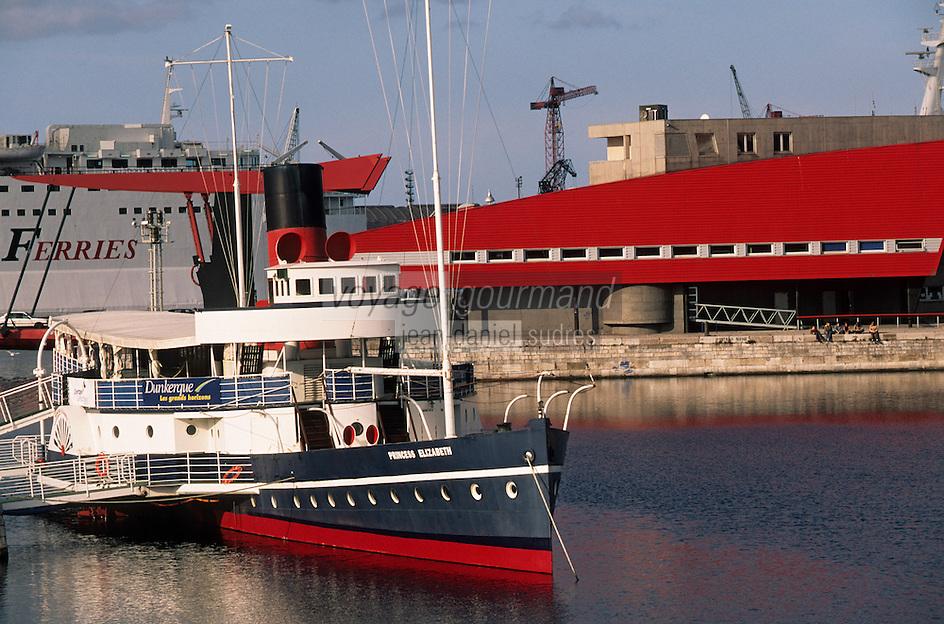 Europe/France/Nord-Pas-de-Calais/59/Nord/Dunkerque: Le port