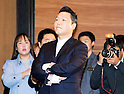 South Korean singer Psy attends a press conference about his new 7th album in Seoul