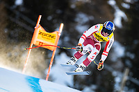 26th December 2020; Stelvio, Bormio, Italy; FIS World Cup Mens Downhill;   Matthias Mayer of Austria during his 1st training run for the mens downhill race of FIS ski alpine world cup at the Stelvio