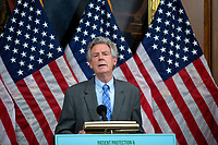 United States Representative Frank Pallone (Democrat of New Jersey) speaks during a news conference on the Affordable Care Enhancement Act at the United States Capitol in Washington D.C., U.S., on Wednesday, June 24, 2020.  Credit: Stefani Reynolds / CNP/AdMedia