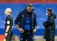 Bolton Wanderers' head coach Ian Evatt looks on <br /> <br /> Photographer Andrew Kearns/CameraSport<br /> <br /> The EFL Sky Bet League Two - Bolton Wanderers v Salford City - Friday 13th November 2020 - University of Bolton Stadium - Bolton<br /> <br /> World Copyright © 2020 CameraSport. All rights reserved. 43 Linden Ave. Countesthorpe. Leicester. England. LE8 5PG - Tel: +44 (0) 116 277 4147 - admin@camerasport.com - www.camerasport.com