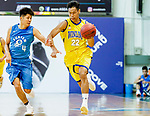 Fong Shing Yee #22 of Winling Basketball Club dribbles the ball up court against the Fukien during the Hong Kong Basketball League game between Winling and Fukien at Southorn Stadium on May 29, 2018 in Hong Kong. Photo by Yu Chun Christopher Wong / Power Sport Images