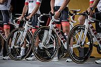 Team Trek Segafredo Team Presentation<br /> <br /> Le Grand Départ 2018<br /> 105th Tour de France 2018<br /> ©Kramon