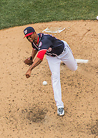 29 May 2016: Washington Nationals pitcher Felipe Rivero on the mound against the St. Louis Cardinals at Nationals Park in Washington, DC. The Nationals defeated the Cardinals 10-2 to split their 4-game series. Mandatory Credit: Ed Wolfstein Photo *** RAW (NEF) Image File Available ***