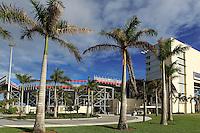BOCA RATON, FL - DECEMBER 15, 2012: FAU stadium before  an international friendly match between the USA WNT and China WNTat FAU Stadium, in Boca Raton, Florida, on Saturday, December 15, 2012.
