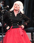 Debbie Harry of Blondie performs at the Music Box in the Borgata Hotel and Casino in Atlantic City, New Jersey September 16, 2011. Copyright EML/Rockinexposures.com.
