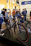 Enigma stand at Bespoked 2018 UK handmade bicycle show held at Brunel's Old Station & Engine Shed, Bristol, England. 21st April 2018.<br /> Picture: Eoin Clarke | Cyclefile<br /> <br /> <br /> All photos usage must carry mandatory copyright credit (© Cyclefile | Eoin Clarke)
