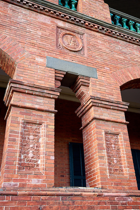 Detail On The Consul's Residence In Tamsui, Taiwan.