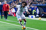 Marcelo Vieira Da Silva of Real Madrid in action during the La Liga 2017-18 match between Levante UD and Real Madrid at Estadio Ciutat de Valencia on 03 February 2018 in Valencia, Spain. Photo by Maria Jose Segovia Carmona / Power Sport Images