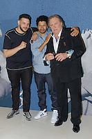 sadek rachid djaidani et gerard depardieu en photocall pour le film tour de france - film selectionne dans le cadre de la quinzaine des realisateurs au Festival de Cannes 2016 - theatre croisette a cannes le dimanche 15 mai 2016