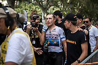 stage winner Matteo Trentin (ITA/Mitchelton Scott) <br /> <br /> Stage 17: Pont du Gard to Gap (200km)<br /> 106th Tour de France 2019 (2.UWT)<br /> <br /> ©kramon