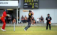 180101 Cricket - Wellington A v Zimbabwe Under-19