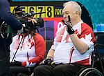 Jim Armstrong, Sochi 2014 - Wheelchair Curling // Curling en fauteuil roulant.<br /> Canada takes on Slovakia in round robin play // Le Canada affronte la Slovaquie dans le tournoi à la ronde. 13/03/2014.