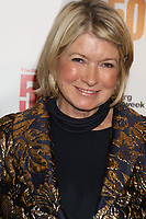 MARTHA STEWART 2017<br /> at The Bloomberg 50 celebrates icons and<br /> Innovators who Changed Global business in <br /> Photo By John Barrett/PHOTOlink.net