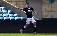 forth goal scored for Millwall by Tom Bradshaw of Millwall as he celebrates during Millwall vs Bristol City, Sky Bet EFL Championship Football at The Den on 1st May 2021