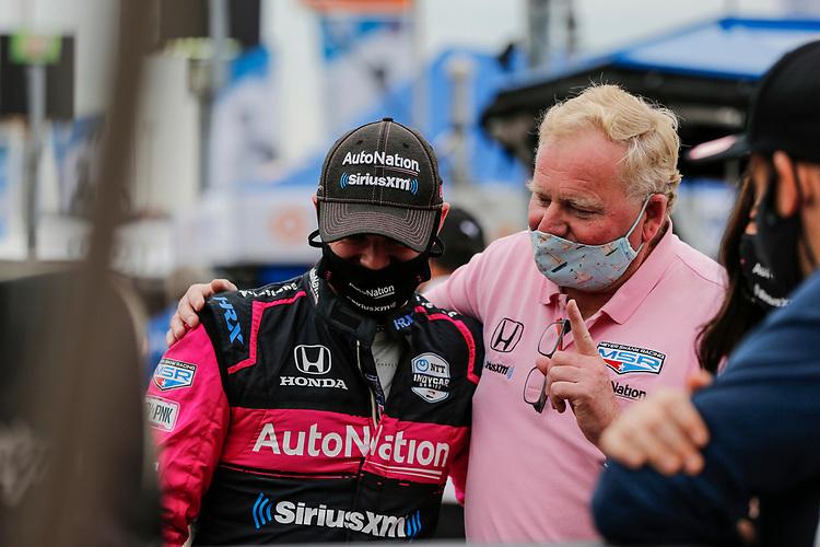 #60: Jack Harvey, Meyer Shank Racing Honda, Jim Meyer