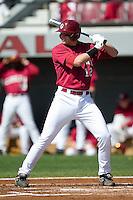 South Carolina first baseman Justin Smoak (12) at bat versus LSU at Sarge Frye Stadium in Columbia, SC, Thursday, March 18, 2007.