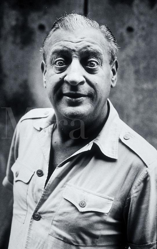 Portrait of comedian Rodney Dangerfield.