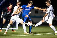 Irvine, California - Saturday April 12, 2014: The OC Blues FC defeated Sacramento Republic FC 2-1 in an USL PRO match at Anteater stadium on the campus of UC Irvine.