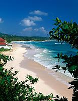 Jamaica, Portland, Long Bay, einsamer Strand   Jamaica, Portland, Long Bay, deserted Beach